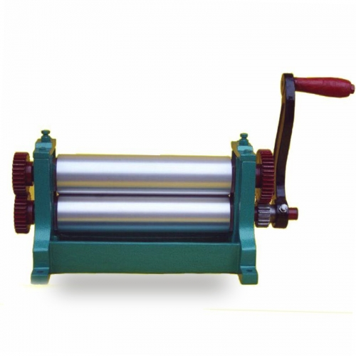 Manual beeswax foundation machine